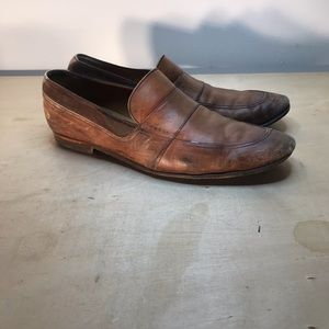Worn Gucci loafers size 8.5